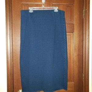JJill jean skirt